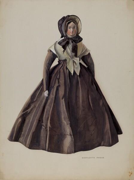 Quaker Costume Doll