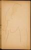 begonnene Elefantenstudie (Initial Sketch of an Elephant) [p. 31]