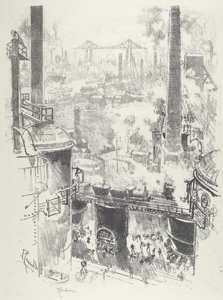 From the Tops of the Furnaces