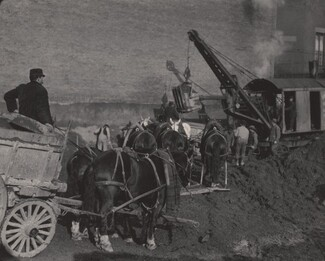image: Excavating, New York