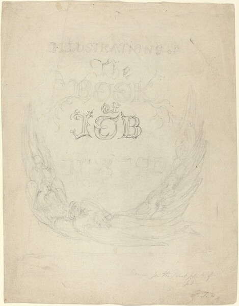 Sketch for the Title-Page of the Engraved Illustrations to the Book of Job