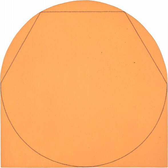 Model for Painting: Circle in and out of a Polygon II