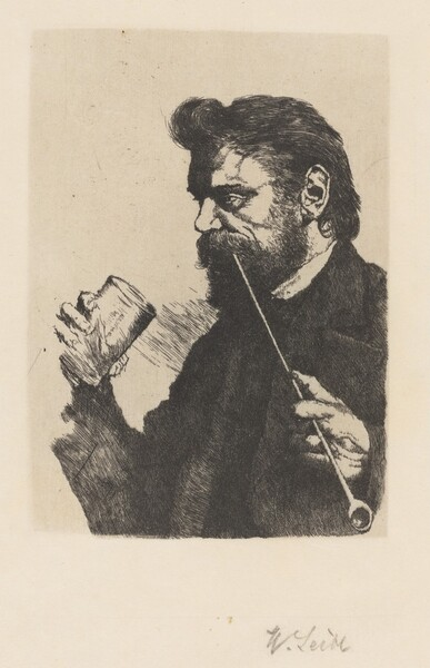 Portrait of the Painter Sperl