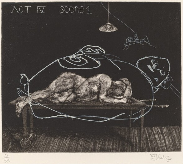 Act IV, Scene 1, from Ubu Tells the Truth