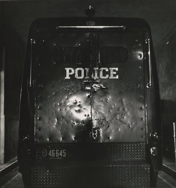 Police Wagon, Oakland, California
