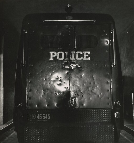 Police Wagon, Oakland, California