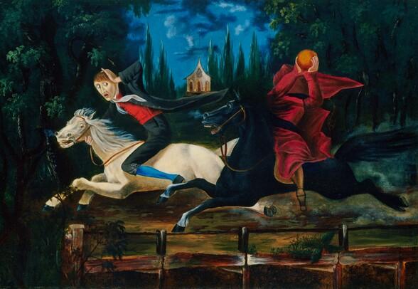 Ichabod Crane and the Headless Horseman