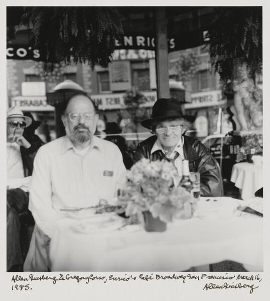 Allen Ginsberg & Gregory Corso, Enrico