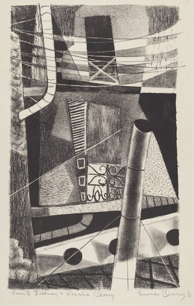 Untitled (Abstract Cityscape)