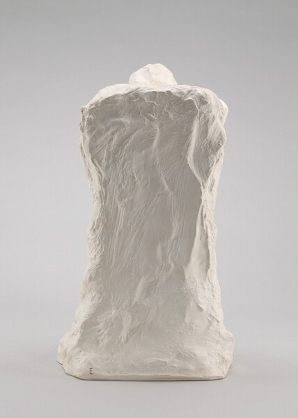 Lost-Wax Casting Display: plaster model [first of ten steps]