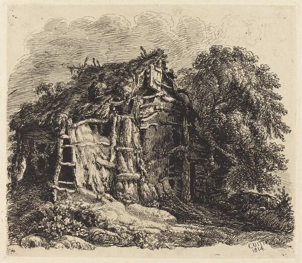 Welsh Hovel at Machynllaeth