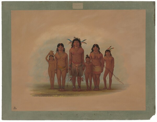A Connibo Indian Family