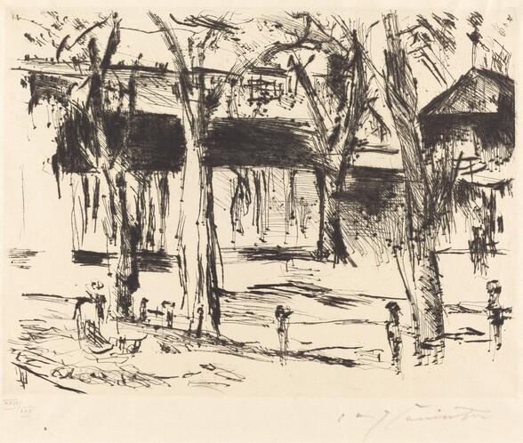 Bahnhof Tiergarten (Court with Trees)