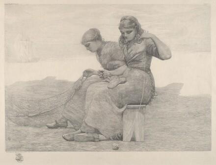 Winslow Homer, Mending Nets, 1888