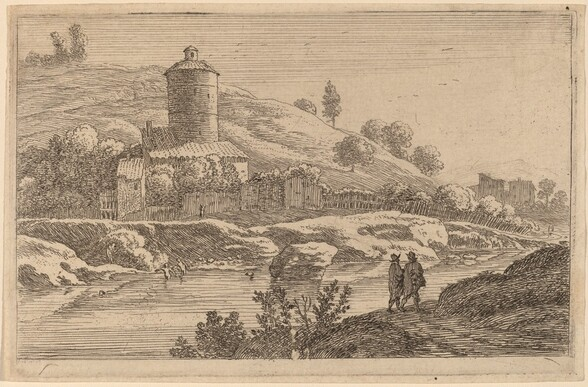 Round Tower near the Tiber