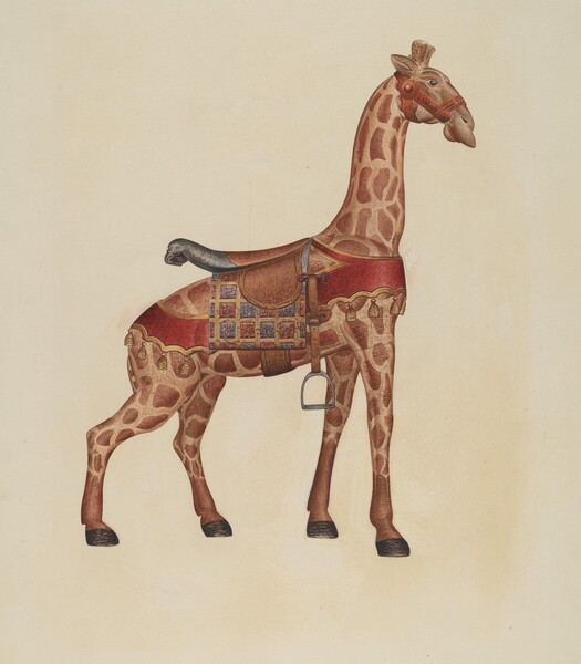 Carousel Giraffe