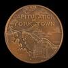 Capitulation of Yorktown [reverse]