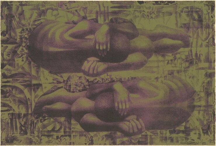 Charles White, Wanted Poster Series #12a, 1970