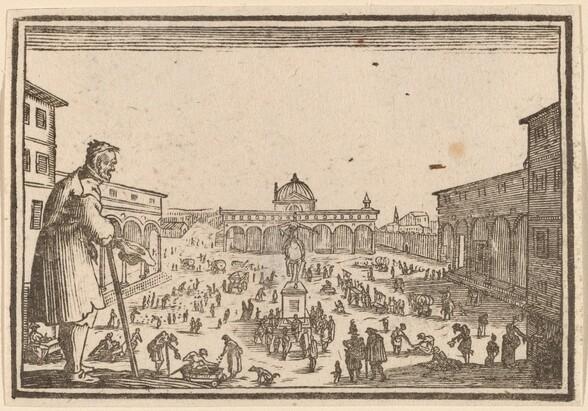 Piazza SS. Annunziata, Florence