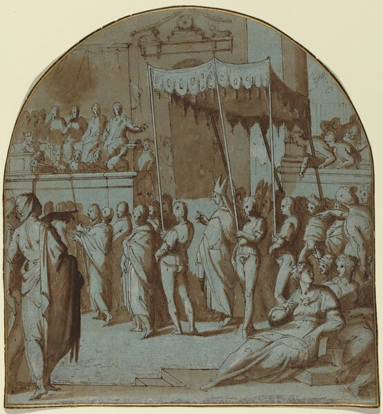 The Entry of Saint Antoninus into Florence