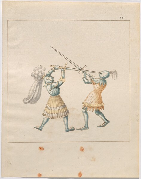 Freydal, The Book of Jousts and Tournament of Emperor Maximilian I: Combats on Foot (Jousts)(Volume III): Plate 166