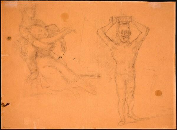 Figure Studies [verso]