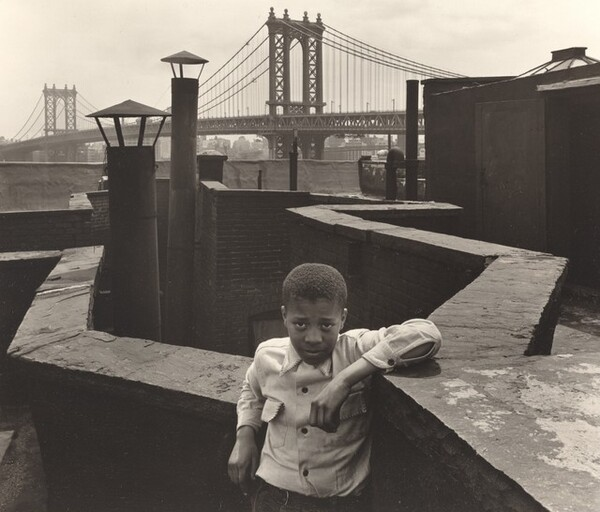 Boy on a Roof, Pitt Street, New York