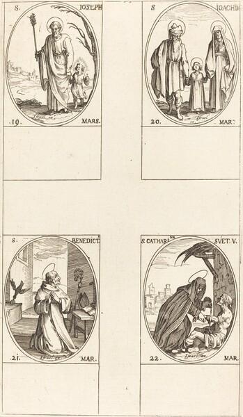St. Joseph; St. Joachim;  St. Benedict, Abbot; St. Catharine of Sweden