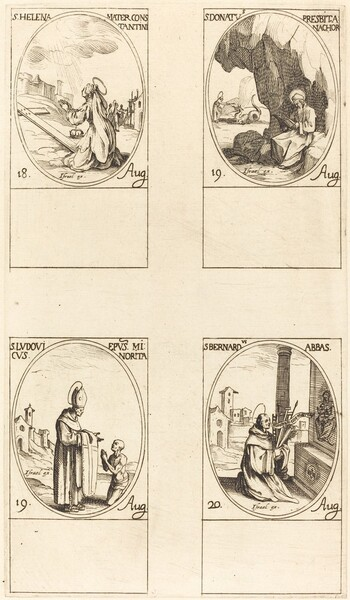 St. Helen; St. Donatus; St. Ludovicus, Bishop; St. Bernard