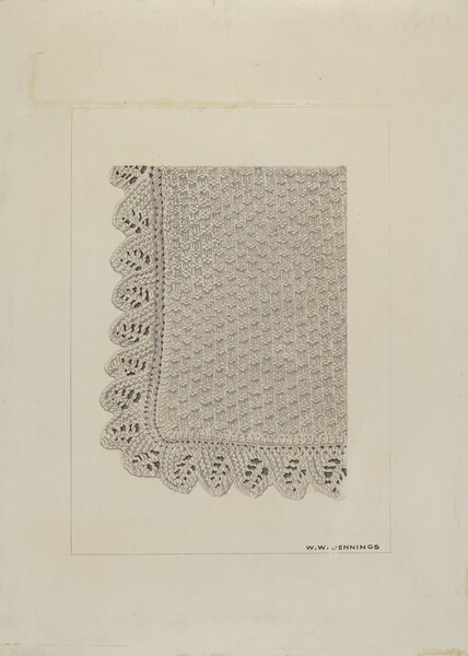 Cotton Thread Scarf