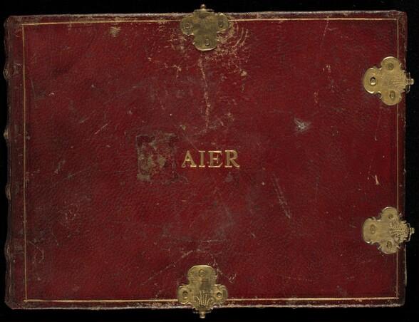 Animalia Volatilia et Amphibia (Aier), volume IV