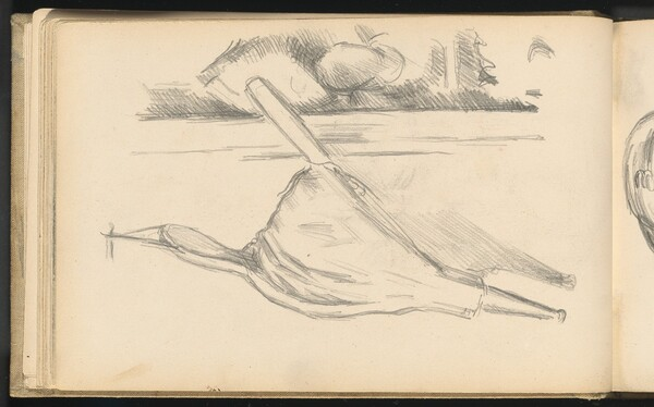 Bellows in Front of a Fireplace