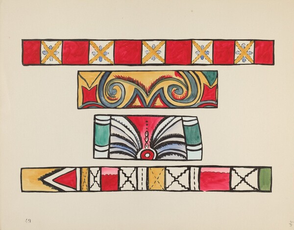 Plate 49: From Portfolio Spanish Colonial Designs of New Mexico