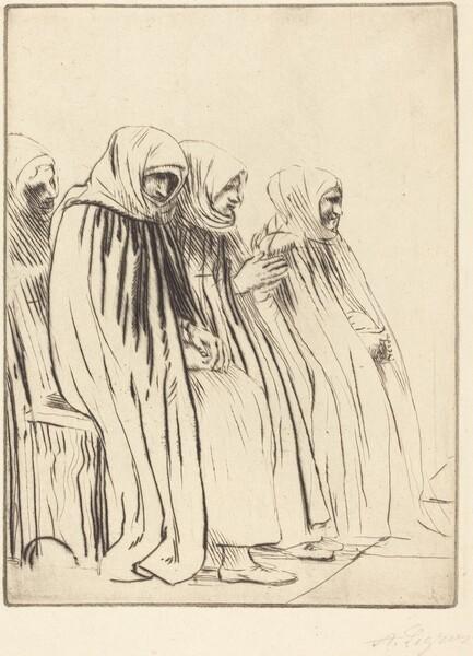Women of Brussels (Femmes de Bruges)