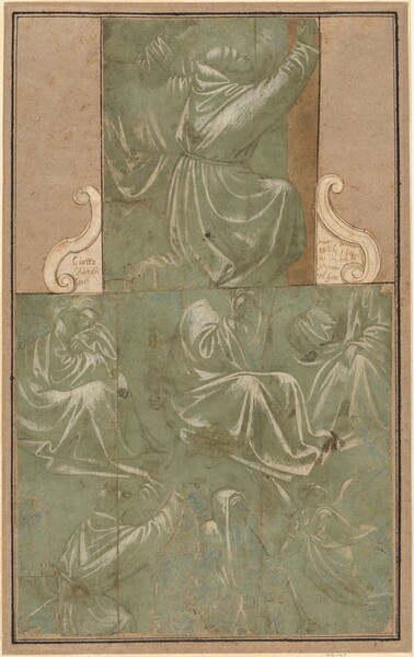 Studies of Saint Francis Kneeling and Other Figures