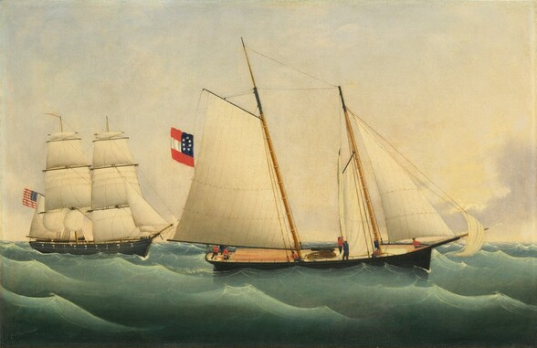 Capture of the Savannah by the U.S.S. Perry