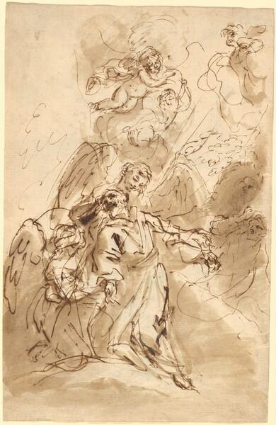 The Ecstasy of Saint Francis [recto]