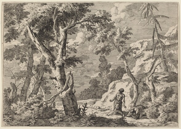 Two Men Penitent in the Wilderness