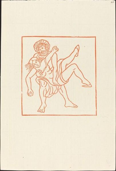 Second Book: Methymnaean Carrying Chloe Away (Chloe enlevee par le Methymnien)