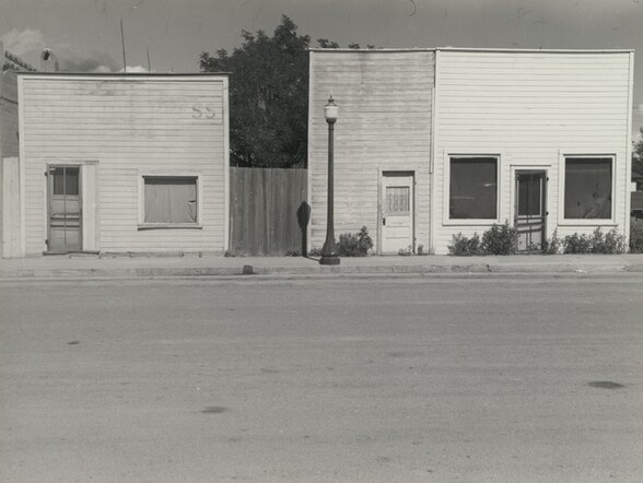 Store with False Fronts, Western Kansas