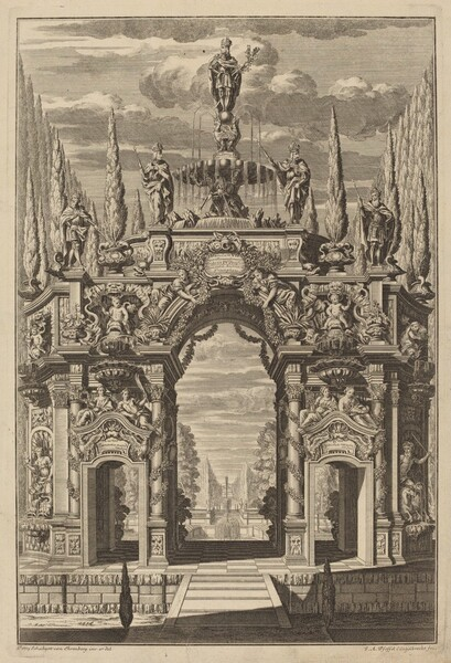 Triumphal Arch for Friedrich IV