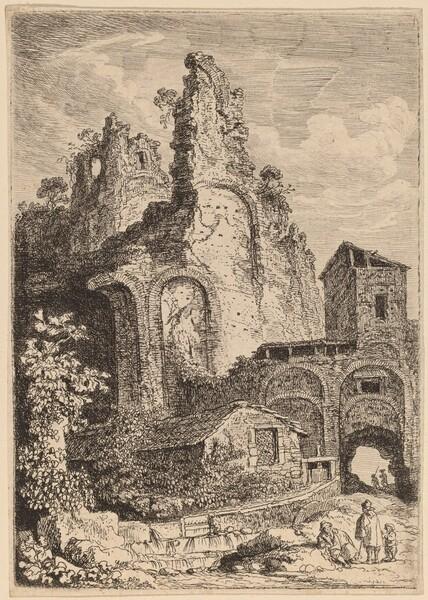 The Old Palace at Tivoli