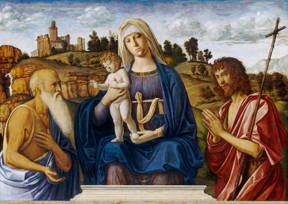 Madonna and Child with Saint Jerome and Saint John the Baptist