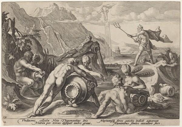 Neptune Plotting the Destruction of Man