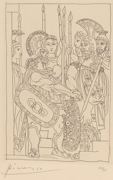 Negotiation between the Athenians and the Spartan Envoys (Accord entre les guerriers de Sparte d