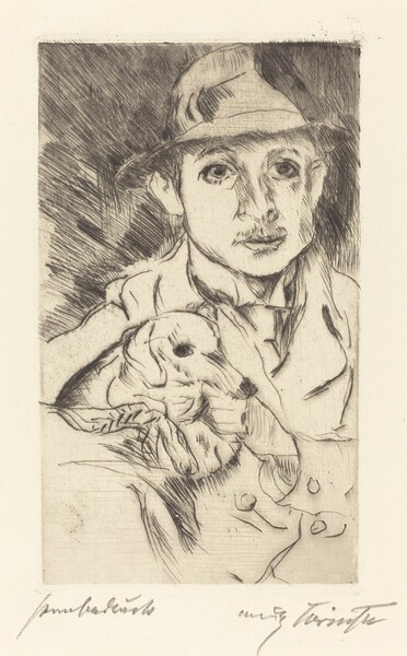 Knabe mit Hund (Boy with Dog)