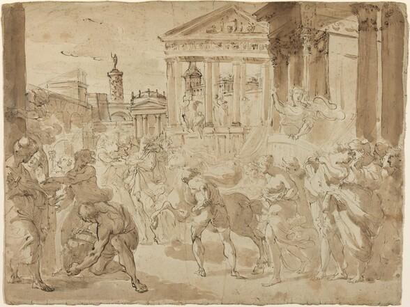 A Triumphal Procession in Ancient Rome