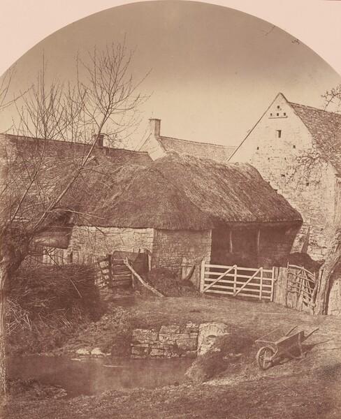 Farm Yard, Prestbury near Cheltenham