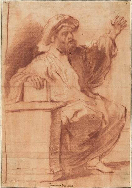 Seated Prophet