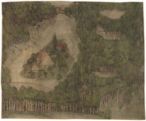 A Farmstead in a Wood